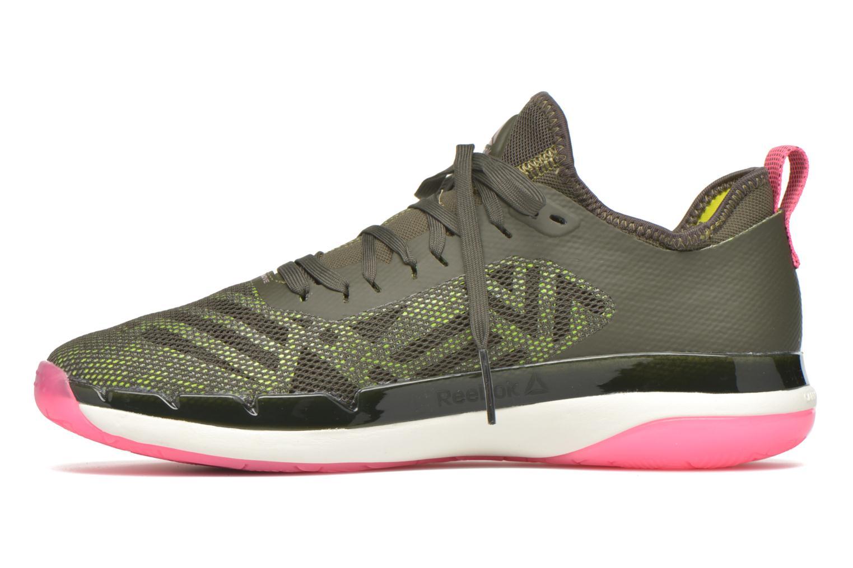 Chaussures de sport Reebok Cardio Ultra 3.0 Vert vue face