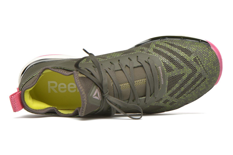 Chaussures de sport Reebok Cardio Ultra 3.0 Vert vue gauche