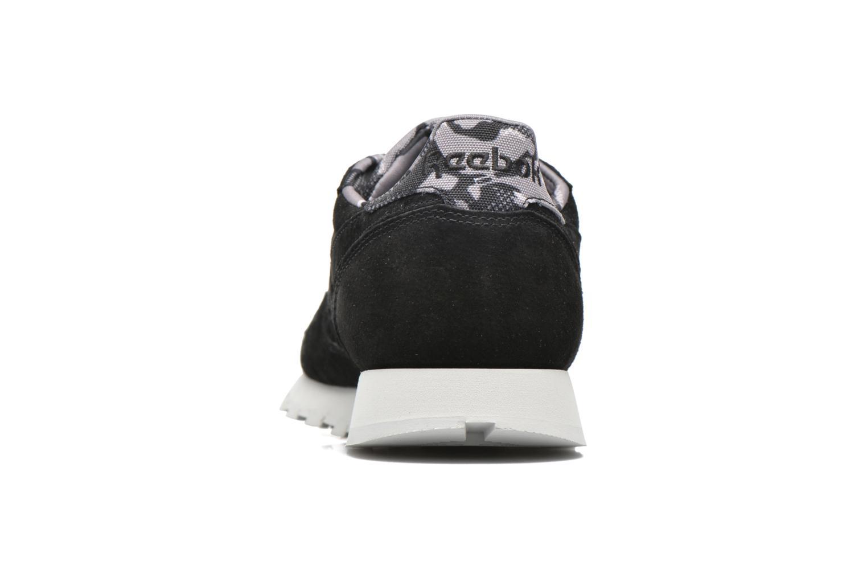 Sneaker Reebok Cl Leather Tdc schwarz ansicht von rechts