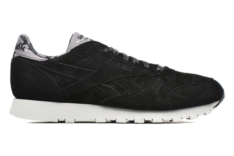 Sneaker Reebok Cl Leather Tdc schwarz ansicht von hinten