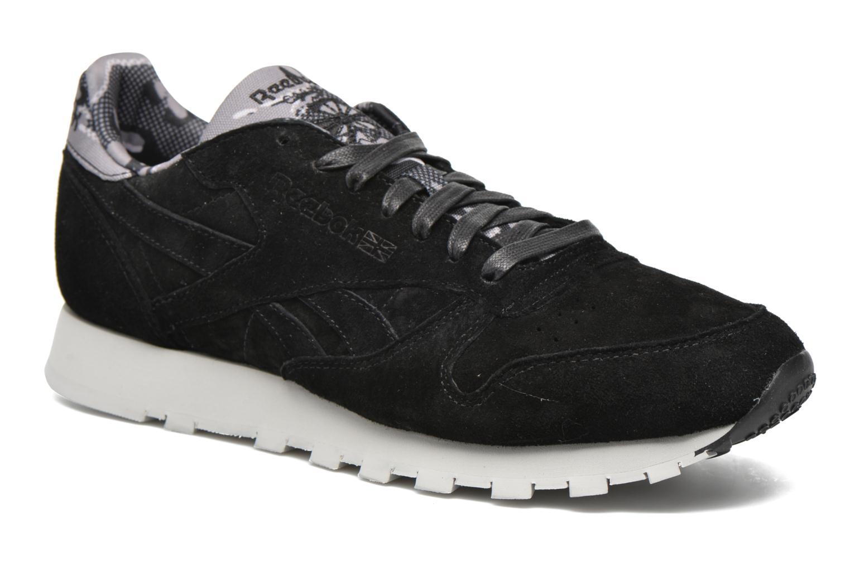 Sneaker Reebok Cl Leather Tdc schwarz detaillierte ansicht/modell