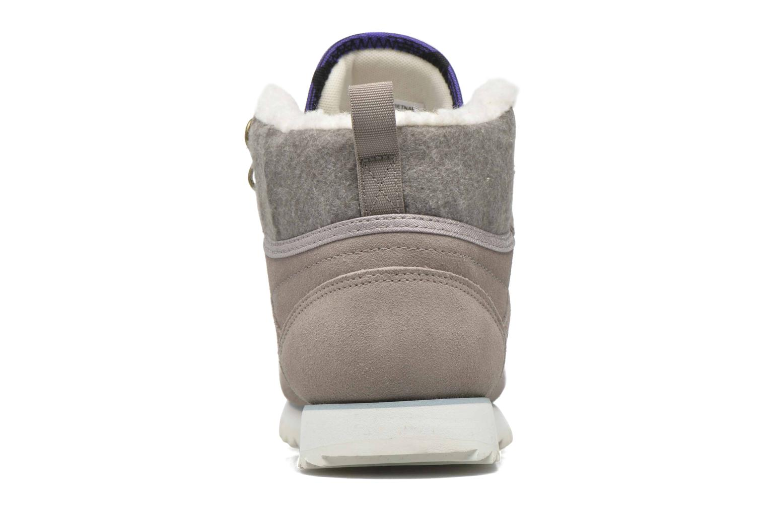 Trainers Reebok Cl Lthr Mid Outdoor Grey view from the right