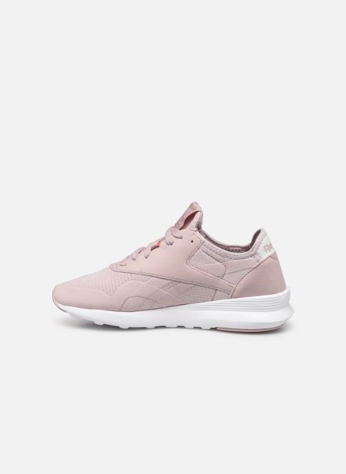 Baskets Reebok Cl Nylon Sp Rose vue face