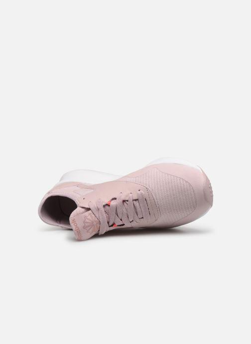 Baskets Reebok Cl Nylon Sp Rose vue gauche