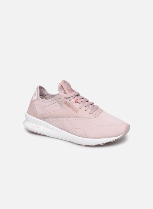 Baskets Reebok Cl Nylon Sp Rose vue détail/paire