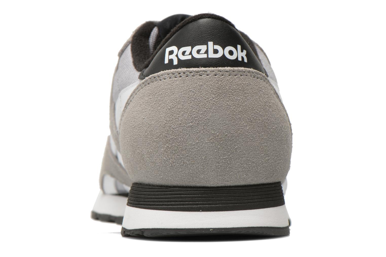 Baskets Reebok Cl Nylon Ts Gris vue droite