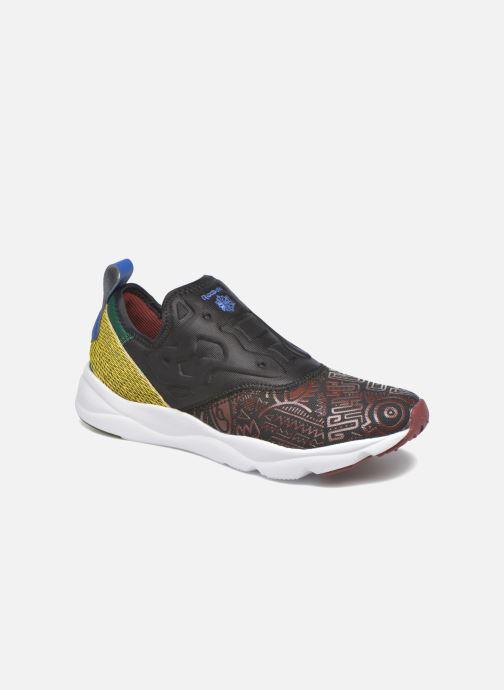 Sarenza noir 267582 Baskets Afr Reebok Furylite Slip On Chez wfq4f0