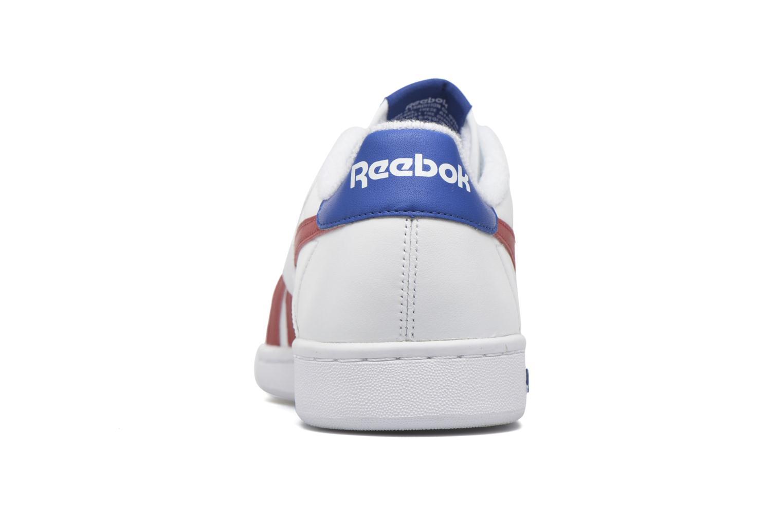 Baskets Reebok Npc Uk Retro Blanc vue droite