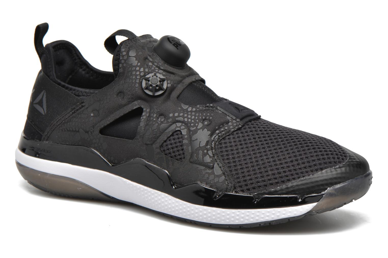 Chaussures de sport Reebok Pump Fusion 2.0 Noir vue détail/paire
