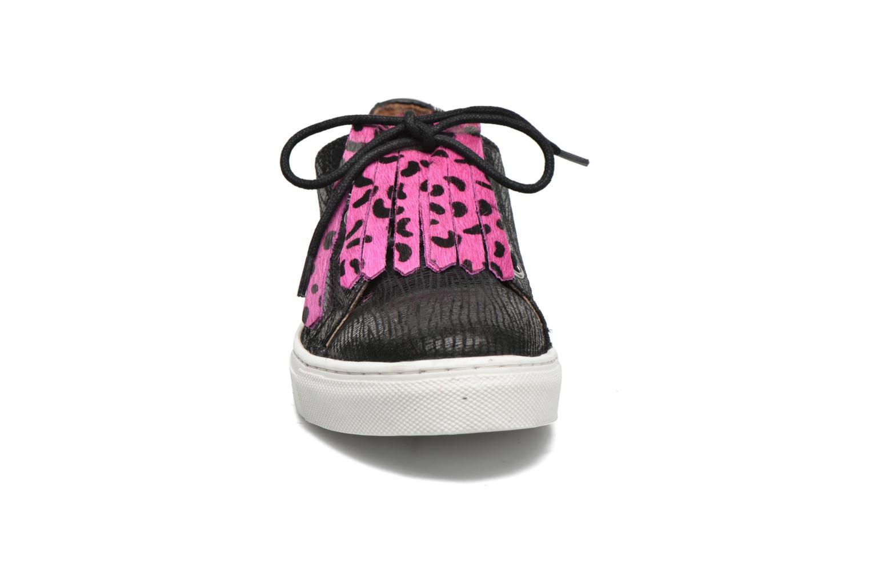 Baskets Gioseppo Sevier Noir vue portées chaussures