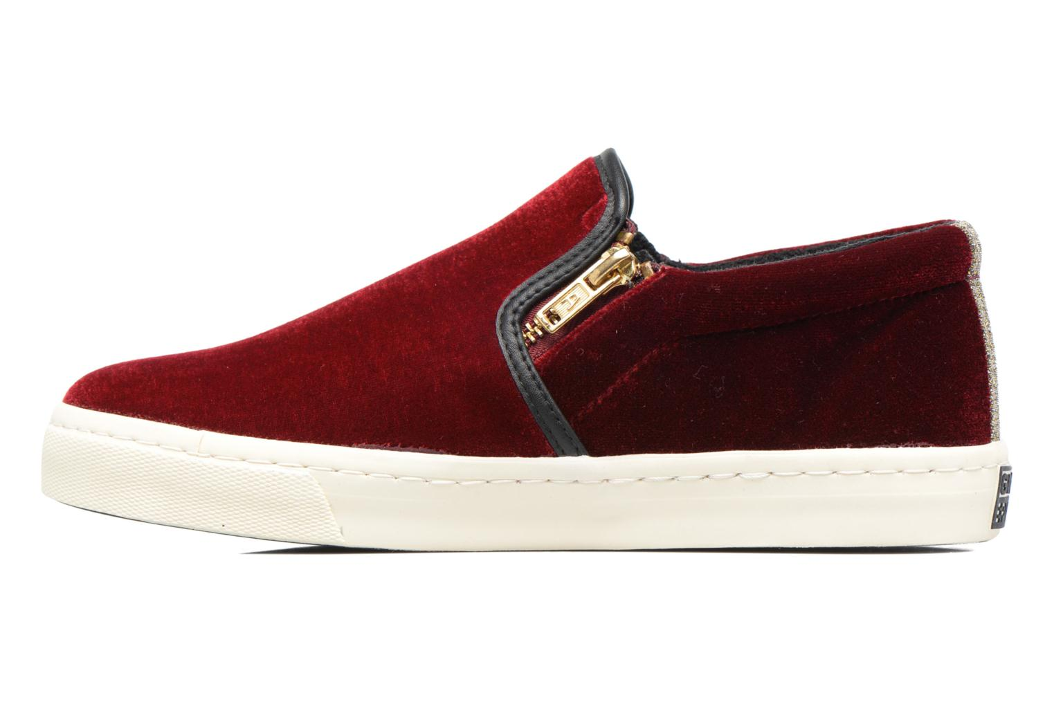 Trainers Gioseppo Rolap Burgundy front view