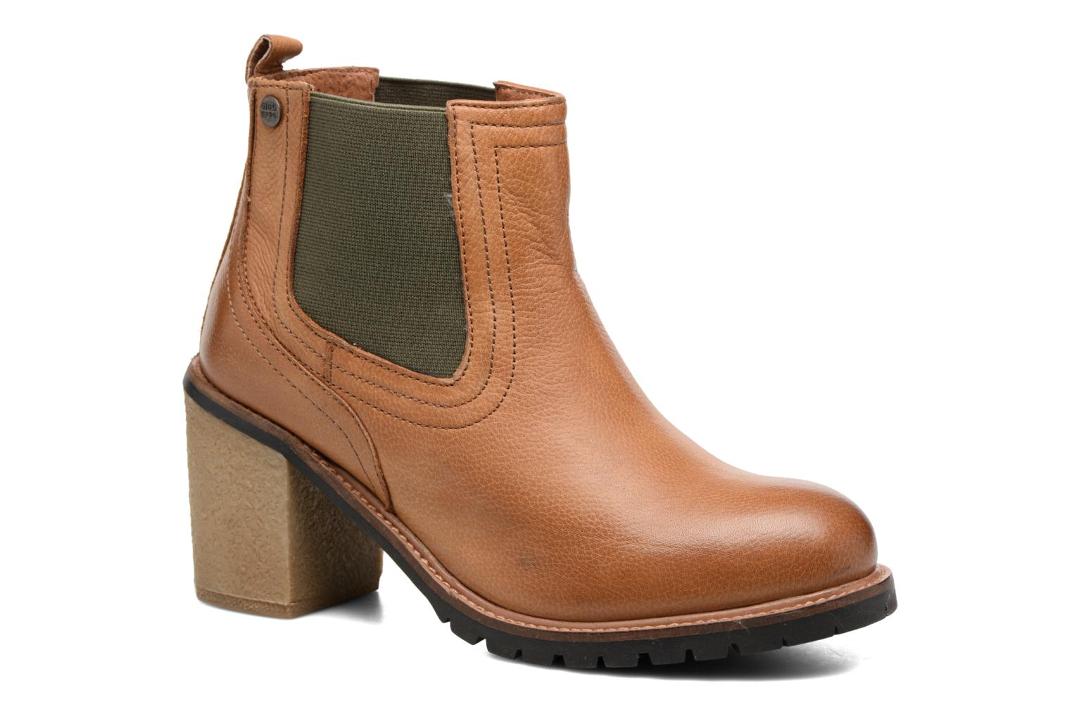 Ankle boots Gioseppo Izard Brown detailed view/ Pair view