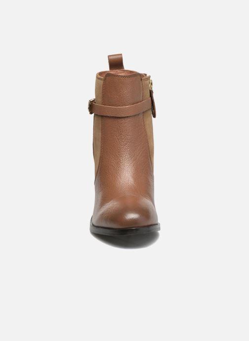 Bottines et boots Gioseppo Bogalusa Marron vue portées chaussures