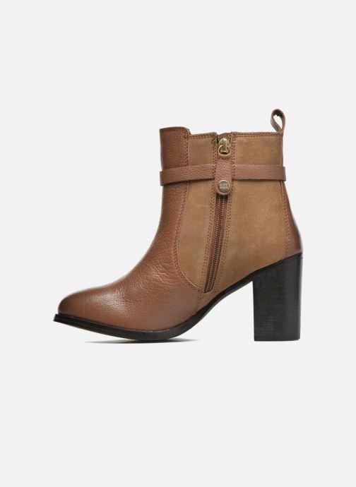 Bottines et boots Gioseppo Bogalusa Marron vue face