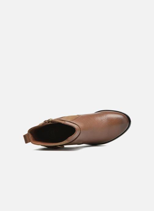 Bottines et boots Gioseppo Bogalusa Marron vue gauche