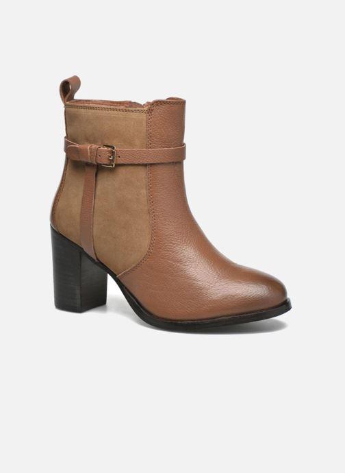 Bottines et boots Gioseppo Bogalusa Marron vue détail/paire