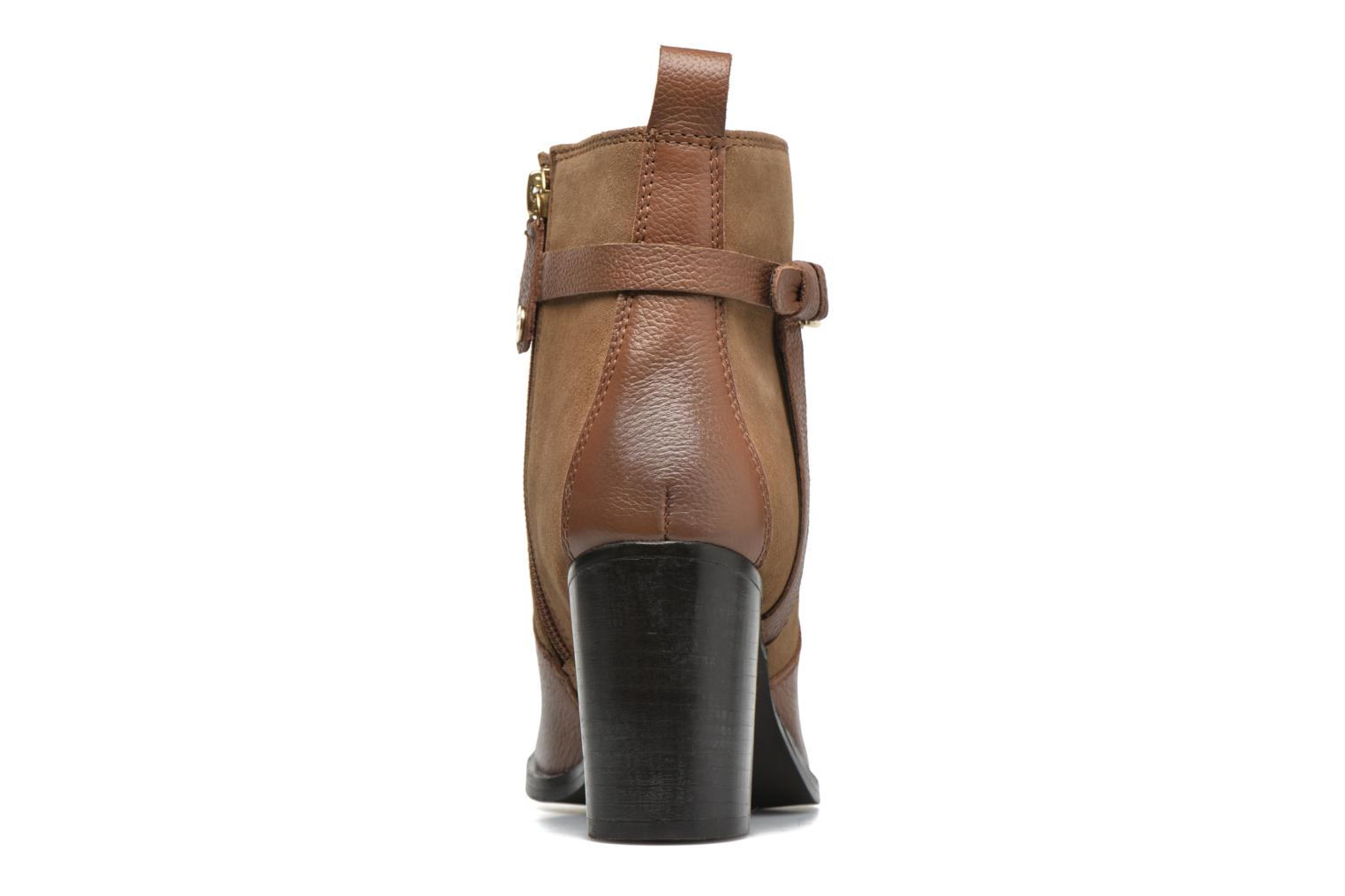 Ankle boots Gioseppo Bogalusa Brown view from the right