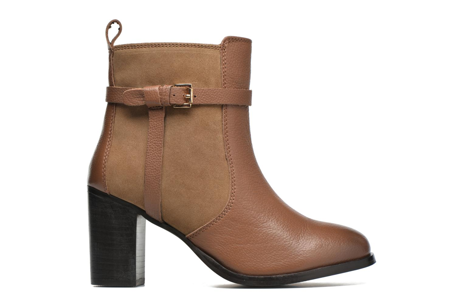 Ankle boots Gioseppo Bogalusa Brown back view