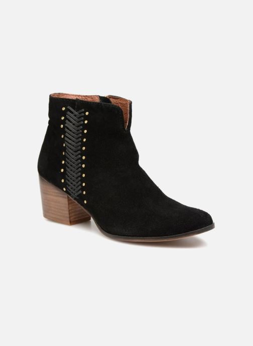 Ankle boots Gioseppo Opelika Black detailed view/ Pair view