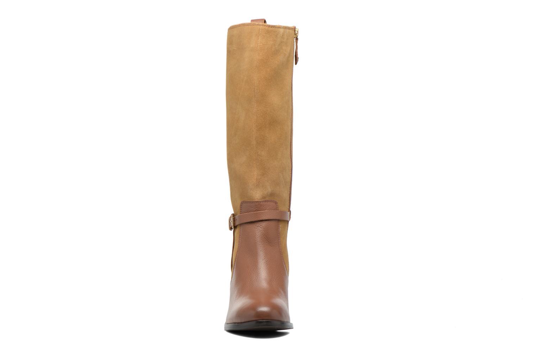 Bottes Gioseppo Kenner Marron vue portées chaussures