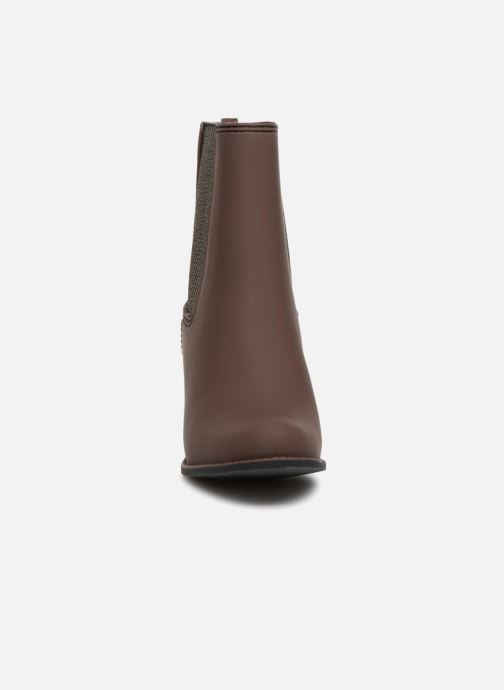 Ankle boots Gioseppo Belfort Brown model view