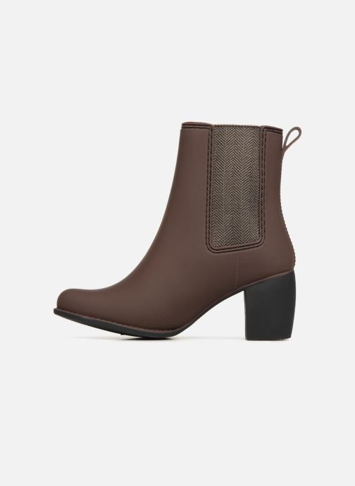 Ankle boots Gioseppo Belfort Brown front view