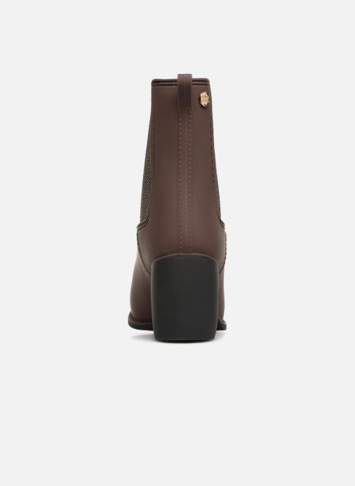 Ankle boots Gioseppo Belfort Brown view from the right