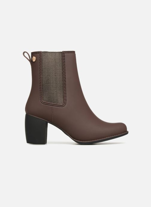 Ankle boots Gioseppo Belfort Brown back view