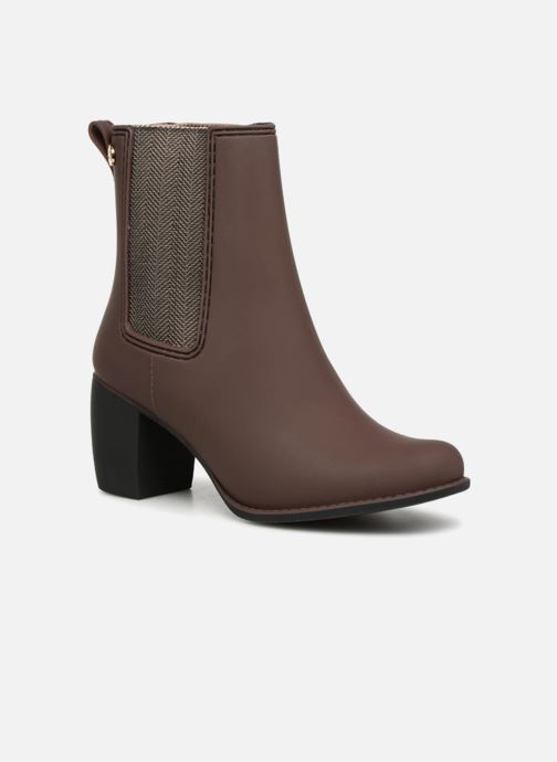 Ankle boots Gioseppo Belfort Brown detailed view/ Pair view
