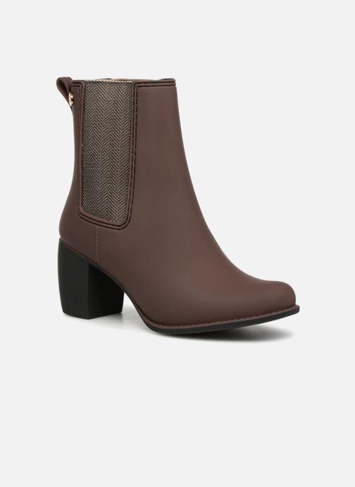 Bottines et boots Gioseppo Belfort Marron vue détail/paire