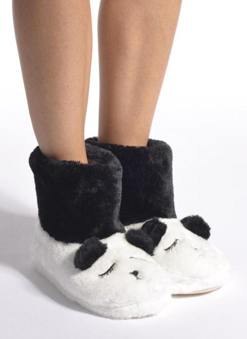 Pantofole Gioseppo Kunfu Bianco immagine dal basso