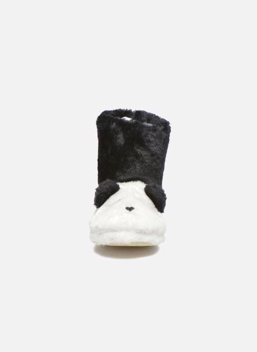 Pantofole Gioseppo Kunfu Bianco modello indossato