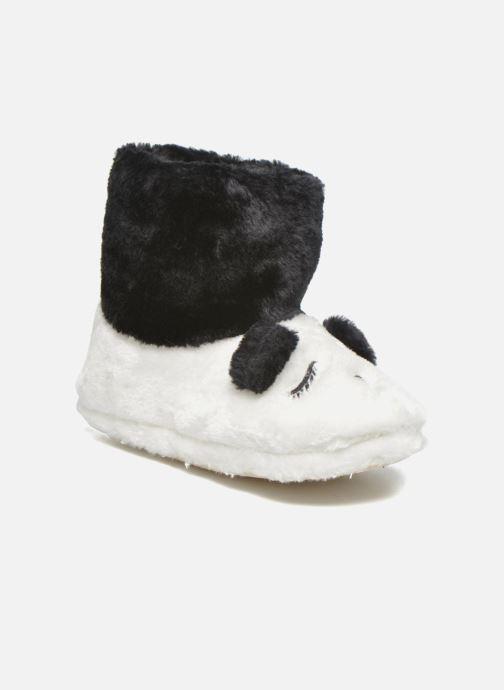 Pantoffels Gioseppo Kunfu Wit detail