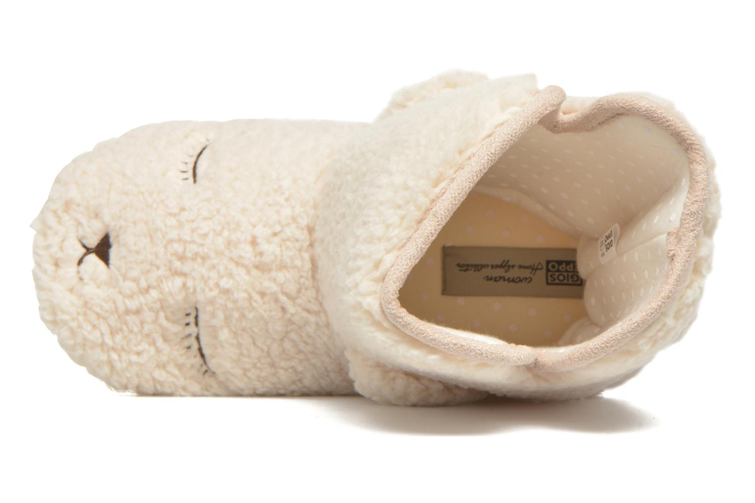 Slippers Gioseppo Misina Beige view from the left