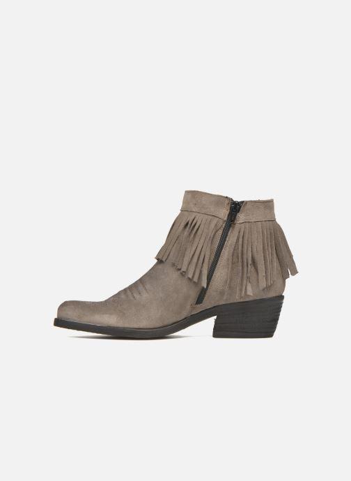 Boots en enkellaarsjes Khrio Samantha Grijs voorkant