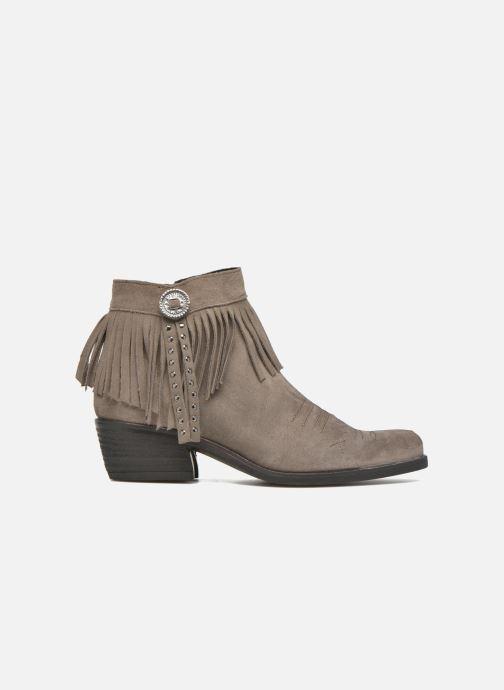 Boots en enkellaarsjes Khrio Samantha Grijs achterkant