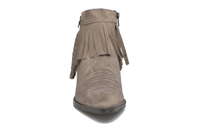 Bottines et boots Khrio Samantha Gris vue portées chaussures