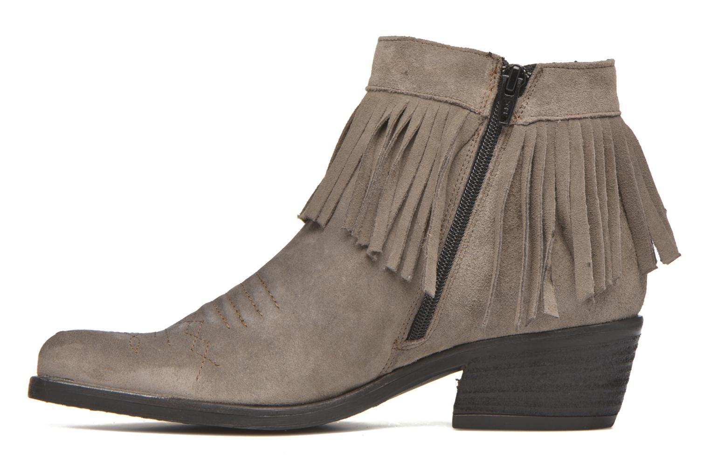 Bottines et boots Khrio Samantha Gris vue face