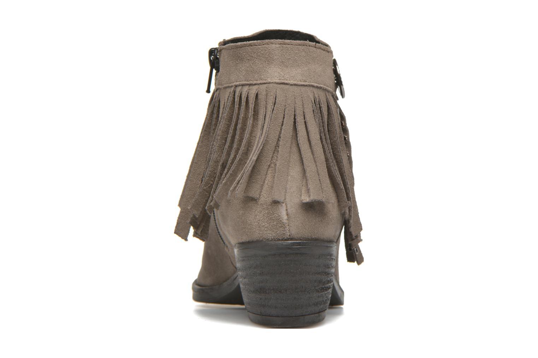 Bottines et boots Khrio Samantha Gris vue droite