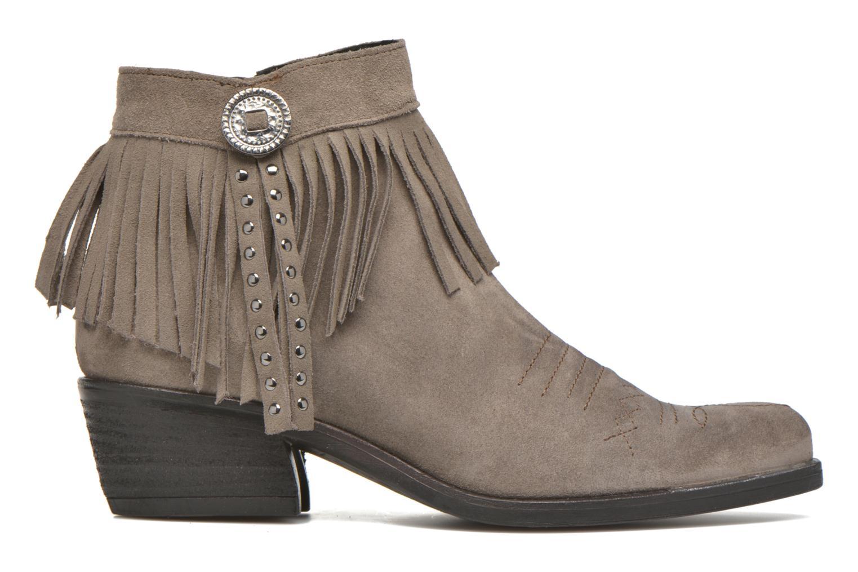 Bottines et boots Khrio Samantha Gris vue derrière