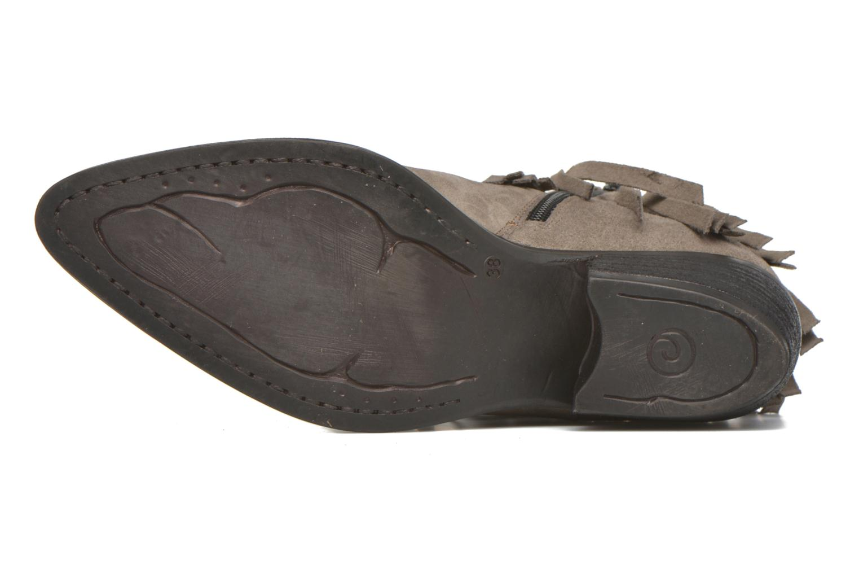 Bottines et boots Khrio Samantha Gris vue haut