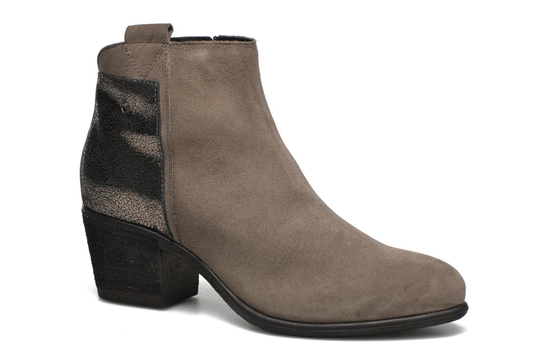 Boots en enkellaarsjes Khrio Julia Grijs detail