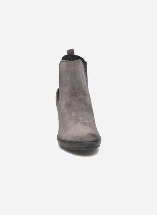 Bottines et boots Khrio Clara Gris vue portées chaussures