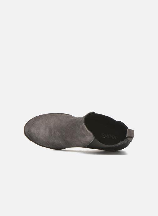 Bottines et boots Khrio Clara Gris vue gauche