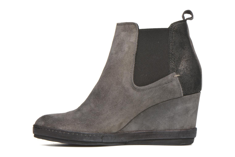 Bottines et boots Khrio Clara Gris vue face