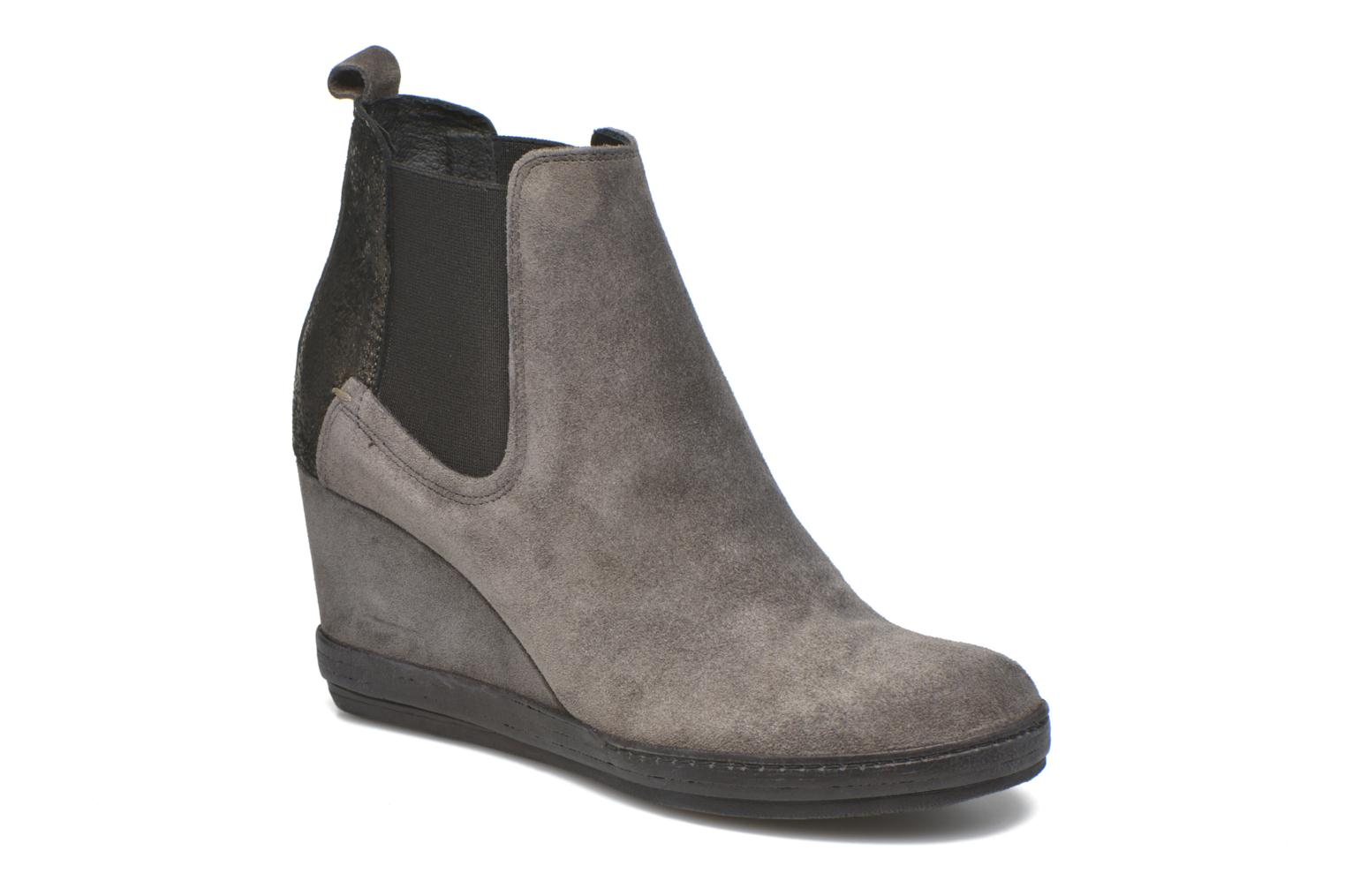 Ankle boots Khrio Clara Grey detailed view/ Pair view