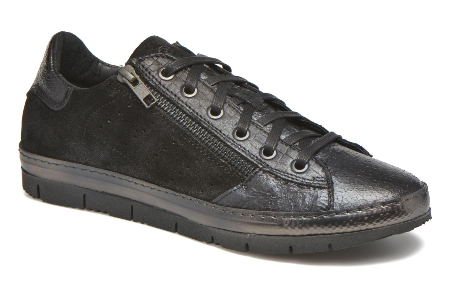 Trainers Khrio Paloma Black detailed view/ Pair view