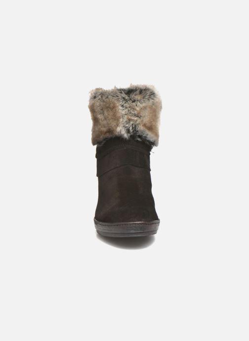 Bottines et boots Khrio Alma Noir vue portées chaussures