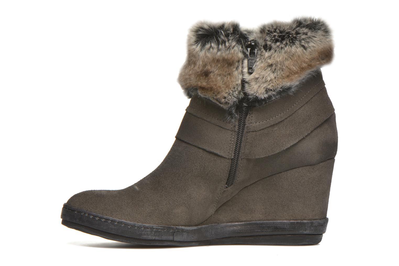 Bottines et boots Khrio Alma Gris vue face
