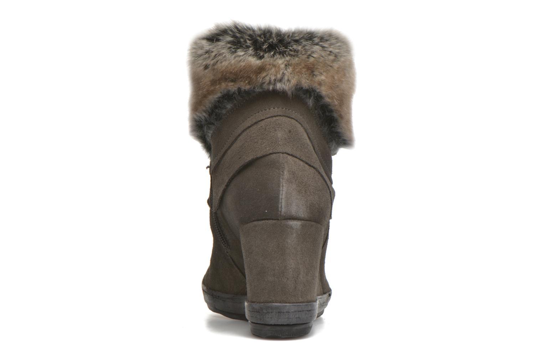 Bottines et boots Khrio Alma Gris vue droite
